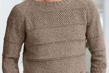 мужское вязание