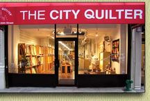 the big apple! / places to go, people to see, food to eat, fabric/quilty/yarny love...