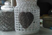 Haken - glazen pot