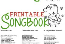 christmas activities,  themes and songs