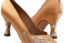 Dance shoes stones