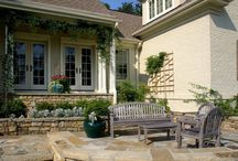 Outdoor spaces / Design an area outside the home for comfort, style and enjoyment