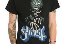 Ghost-Merch / Merchandise der Band Ghost