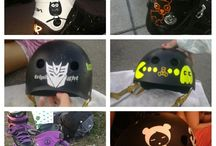 Decorando Cascos, rollers, bici, skates!, etc / Decora con vinilo ·Bicletas ·Roller ·Skate ·Casco y todo elemento deportivo