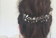 Bridal Hair / Beautiful hair for gorgeous brides.