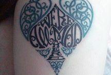 Tattoos / by Skyler Brown