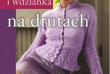 swetry, wdzianka na drutach
