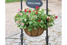 Curb Appeal / From the mailbox to the numbers by the door, the front of your home can make a valuable first impression. It's time to get out your gloves, plant some flowers, and freshen up the front porch with a new door handle, planters and doormat. Your house will be glowing with curb appeal. / by Overstock.com