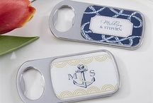 Nautical - Theme / Anchor Your Love with our Nautical Wedding Favors Collection. Choose from  anchor and sail boat design favors.