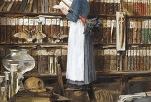 the reading lady