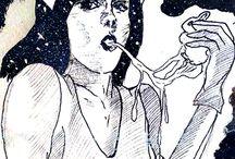 Mis Ilustraciones / Ilustraciones por: Antonio Peña / Rabbit Peña Studio