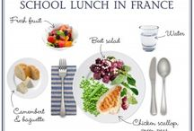 French School Lunch Menus / by Karen Le Billon