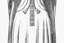Kvindeklæder middelalder