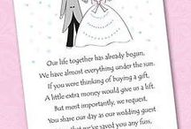 Wedding Gift Poems / One feature of modern wedding invitations that is growing in popularity is the asking for money or vouchers, rather than a traditional gift list. One of the more popular ways of doing this is to have a 'Gift Poem' insert in your invitations.