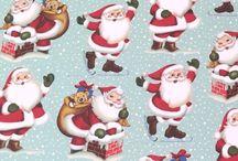 Christmas paper / .