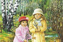 Wiosna - przedszkole