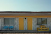 Atmosphere & Aesthetics / Motel  Night  Diner  Roadtrip  Conveinence Store  Neon Signs  Architecture 60s 70s 80s  Miami