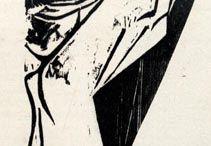 板画 • 刀骨
