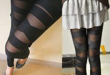Pantalones y Leggins / Variedad de diseños de Pantalones y Leggins, que permitiran sentirte fresca, cómoda y a la moda