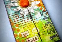 výtvarné práce-novinový papier/ newspaper crafts