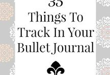 Journaling / Bullet journaling ideas and more