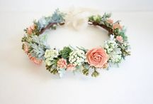 Flower crowns - wedding
