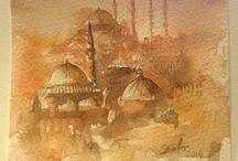 İstanbul watercolor