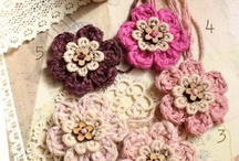 Crochet Flowers and Appliques / by Nelda Holliday