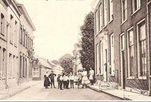Oude foto,s etc.o.a. Rotterdam en Krimpenerwaard. / Schoonhoven van Geelen Sr. Zilversmeden en Rotterdam (de Zwart e.a.)