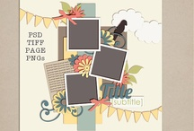 Scrapbooking: Sketches n Templates / by Kerilee Law