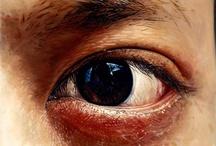 Eye art / Mówią: Oczy zwierciadłem duszy.  Oczy na płaszczyźnie- to zwierciadło duszy autora oraz siła jego przekazu.
