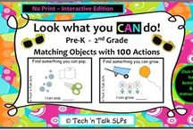TpT materials  / Materials from teachers and SLPs