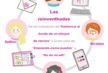 Las Reinventhadas / Viñetas creadas por #gofansgo para el blog de Reinventhadas