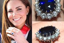 Sparkling Sapphire rings
