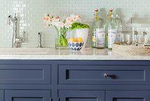 Ideas! Värikkäät keittiöt / Colorful kitchen / Keittiön ei tarvitse olla valkoinen tai musta. Inspiroidu eri värisistä keittiöistä Inspiration: Colorful kitchen
