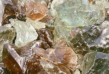 crystals, minerals & stones. / by Laura Schmitt