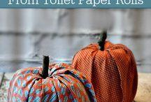 fall crafts hacks cheap