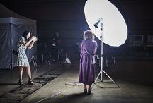 Fashion show backstage / Backstage photo