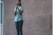 An Inter college poetry competoition