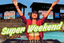 Super Weekend 2016 / Plan your weekend with Worlds of Wonder and turn it into a #SuperWeekend.   Unlimited Music | Unlimited Masti | Unlimited Fun  Super Weekend, a Bollywood music festival would begin April 16. Every Saturday & Sunday will witness a line-up of celebrity DJs and performers at the Worlds of Wonder Water Park.