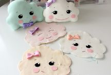 Pillow clouds soft toys