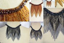 Beaded friges / When it comes to beading fringes, there is no one like Maria.
