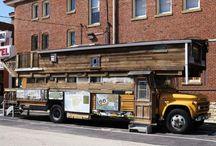 School Bus Conversions / School buses converted