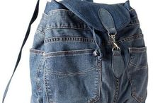 sewing bag jeans