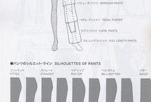 Fantasie pantaloni