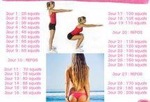 défi squats