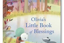 My Little Book of Blessings Personalized Book / A collection of ten sweet and simple daily blessings, each written in rhyme and personalized with your child's name. / by I See Me! Personalized Children's Books