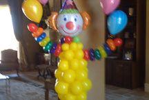 Circus Balloon Decor / Circus Balloon Decor Under the Big Top Decor Clowns Balloons