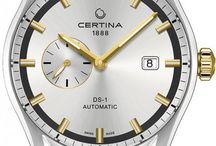 Certina Watches / As the Swiss leader in mid range sporting watches, Certina has always set itself the goal of providing outstanding quality at an affordable price. From its very inception, the brand has shown a keen interest in the world of sport. http://www.jurawatches.co.uk/collections/certina-watches