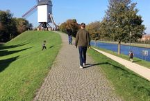 Walks outside Bruges